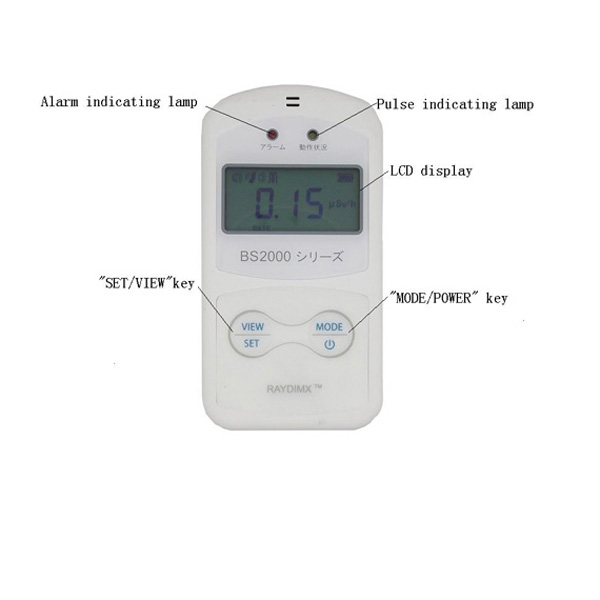 BS2000 Electronic Personal Dosimeter
