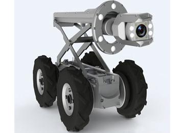 Innovative Design Of Pipe Inspection Crawler Camera